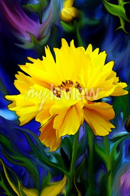 Fototapeta Słoneczny Kwiat