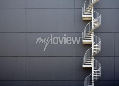 Fototapeta nouzové schodiště