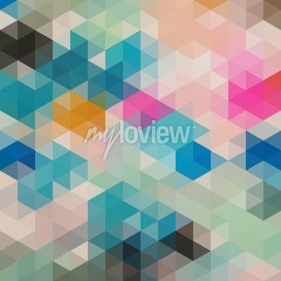 Fototapeta Geometrické trojúhelníky 1