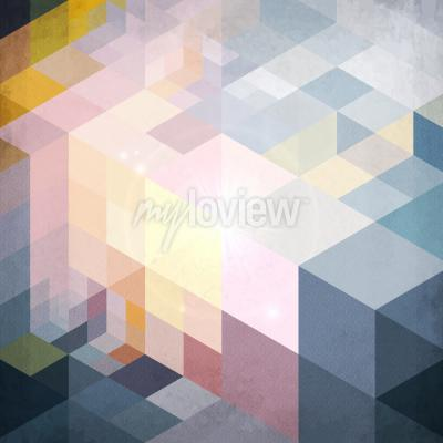 Fototapeta geometrického modelu