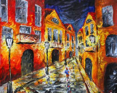 Obraz moderní impresionismus