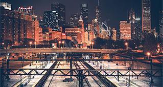 Města v noci