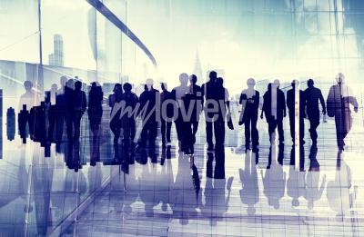 Obraz Koncepce etnika Obchodní cestující Professional povolání úřadě
