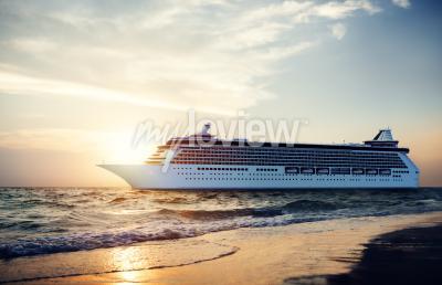 Fototapeta Yacht výletní lodi Sea Ocean Tropical Scenic Concept