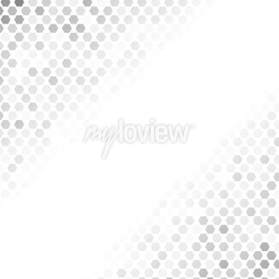 Nálepka Abstraktní šedý vzor