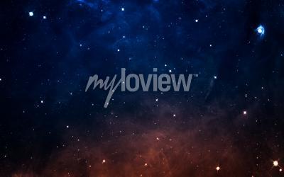Fototapeta Hvězdné pole v hlubokém prostoru, mnoho světelných let daleko od Země