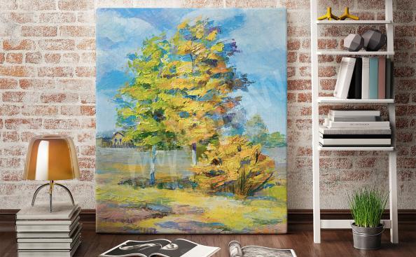 Obraz podzimní strom