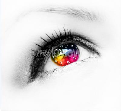 Obraz Hodiny v oku