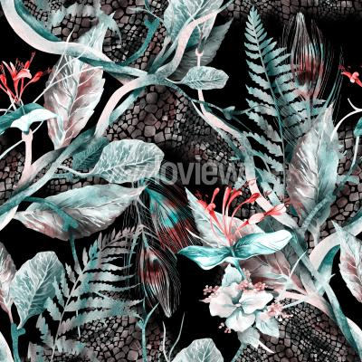 Obraz Floral Seamless Pattern
