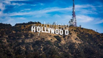 Plakát Hollywood sign Los angeles