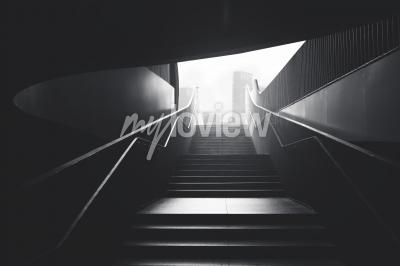 Fototapeta Stairs to the city