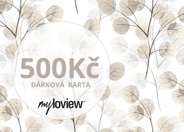 Dárková karta 500Kč