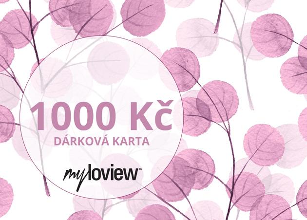 Dárková karta 1000Kč