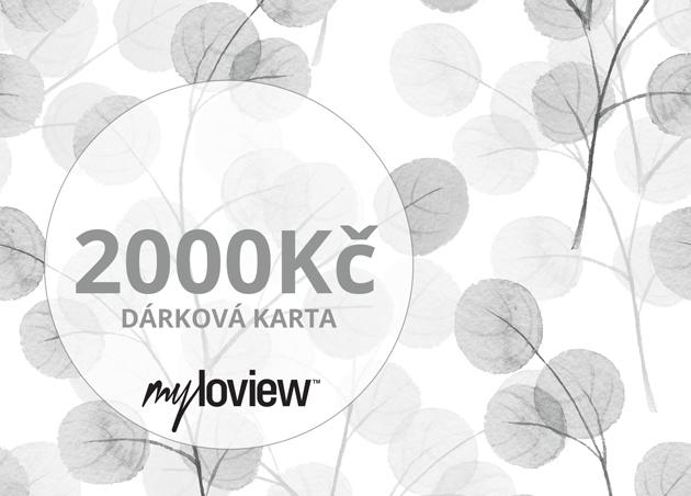 Dárková karta 2000Kč