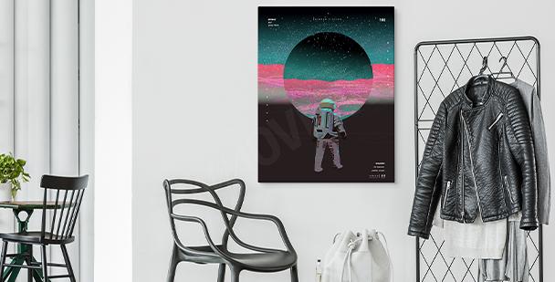 Abstraktní obraz vesmír