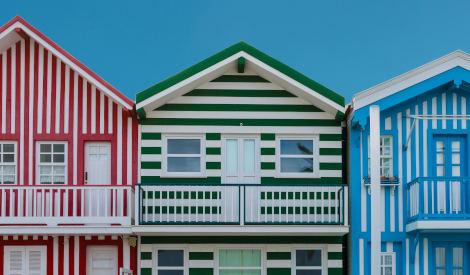 Barevné domky