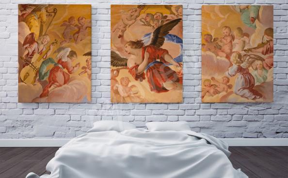 barokní obraz anděle