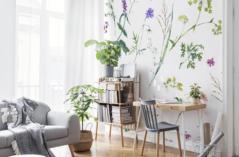 Fototapeta květiny a bylinky