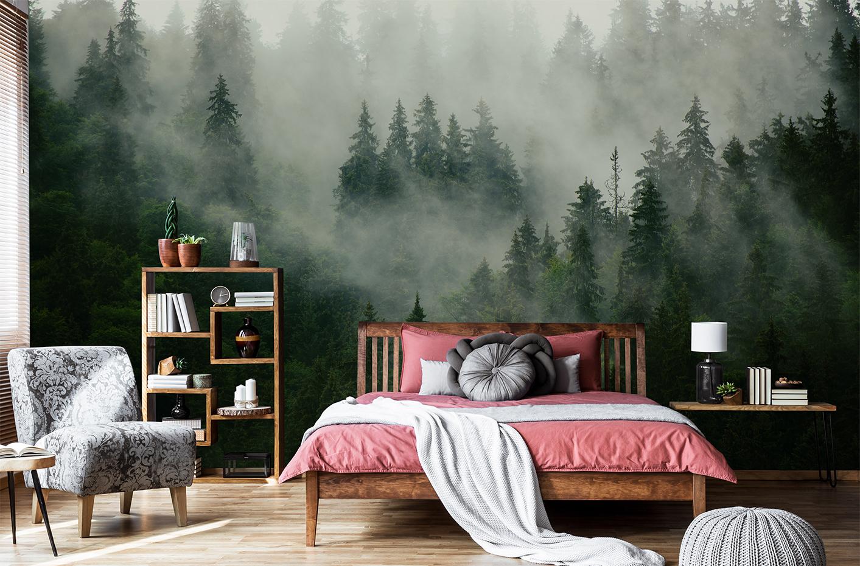 Fototapeta les v mlz