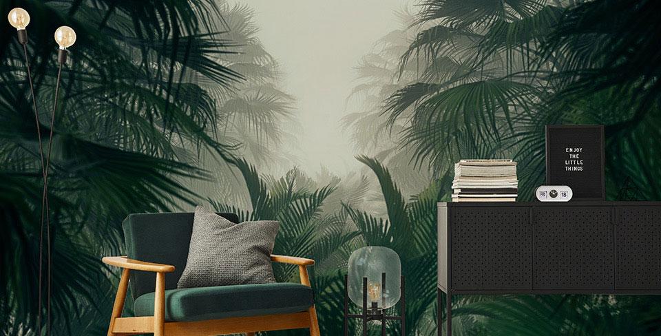 Fototapeta tajemná džungle