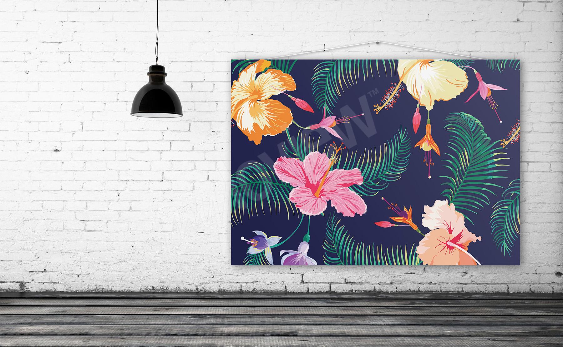 Obraz na plátně květiny