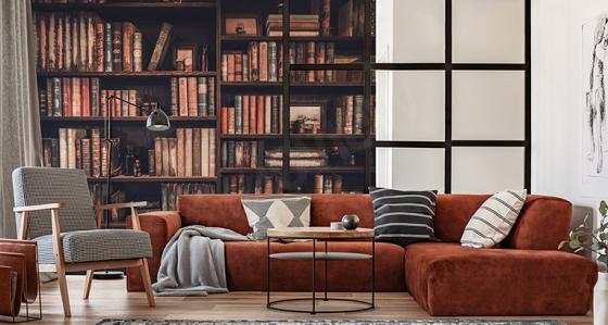 Domácí knihovnička – aranžace, které si zamiluje každý knihomol!