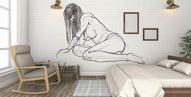 Fototapeta akt do ložnice
