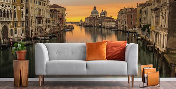 Fototapeta Benátky při východu slunce