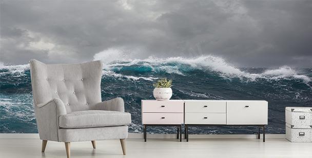 Fototapeta bouře na moři