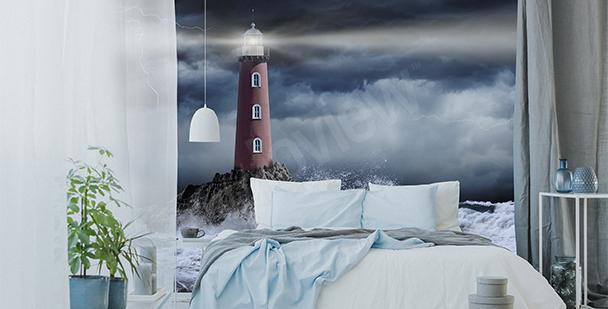 Fototapeta bouře v noci