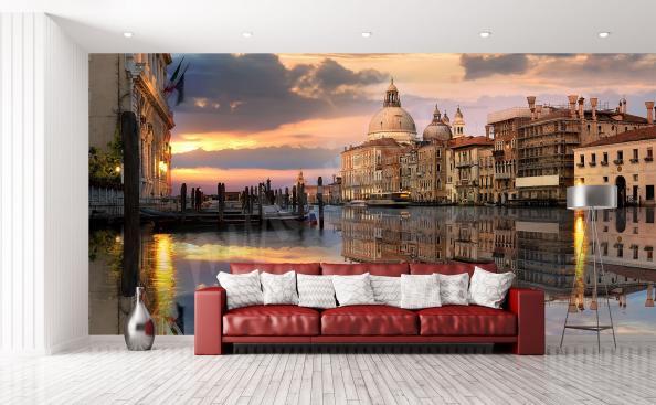 fototapeta Canal Grande v Benátkách