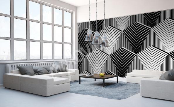 fototapeta černobílá do obývacícho pokoje