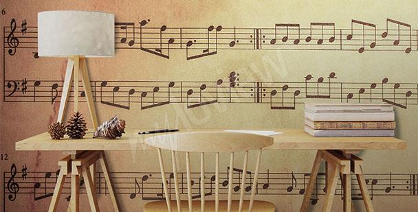 Fototapeta do hudební školy