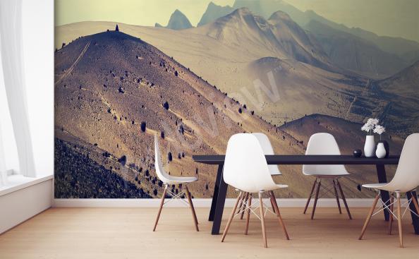 Fototapeta do kuchyně hory
