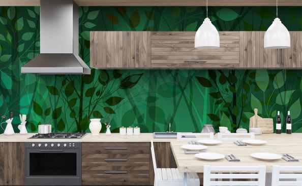 Fototapeta do kuchyně rostlinné listy