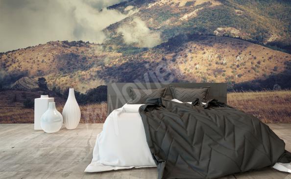Fototapeta do ložnice hory