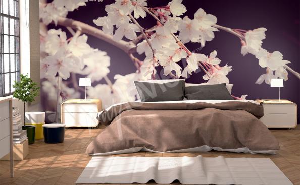 Fototapeta do ložnice kvetiny