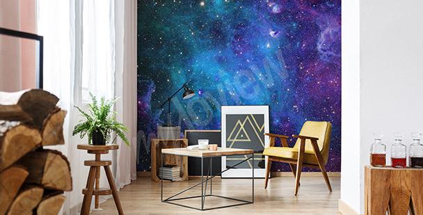 Fototapeta do obývacího pokoje galaxie