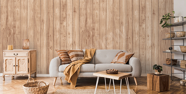 Fototapeta dřeva do obývacího pokoje
