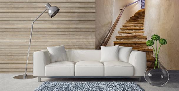 Fototapeta dřevěné schody