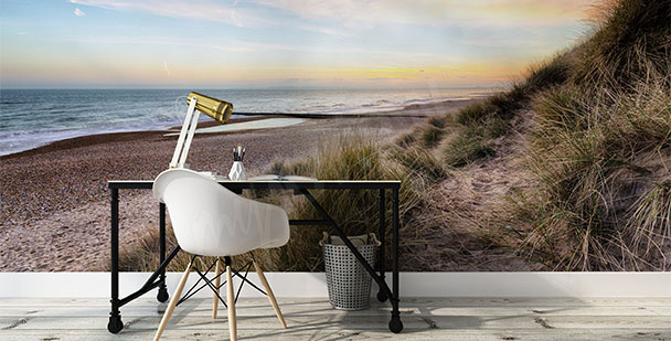 Fototapeta duny na pláži