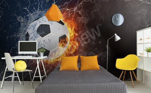 Fototapeta fotbol na zeď