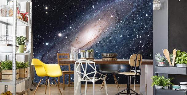 Fototapeta galaxie do jídelny