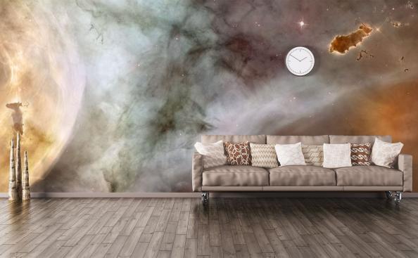 Fototapeta galaxie do obývacího pokoje
