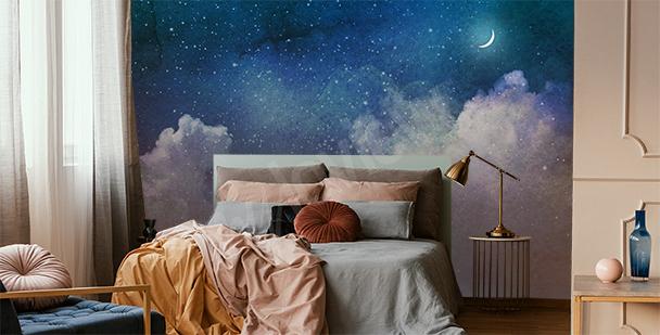 Fototapeta galaxie plná hvězd