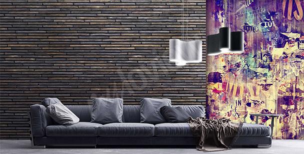 Fototapeta graffiti do obývacího pokoje