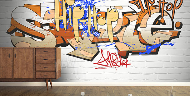 Fototapeta graffiti nápis