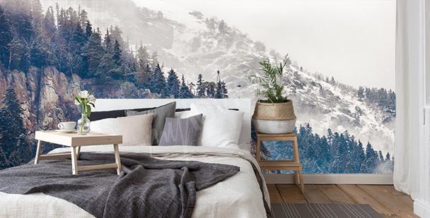 Fototapeta hory do ložnice