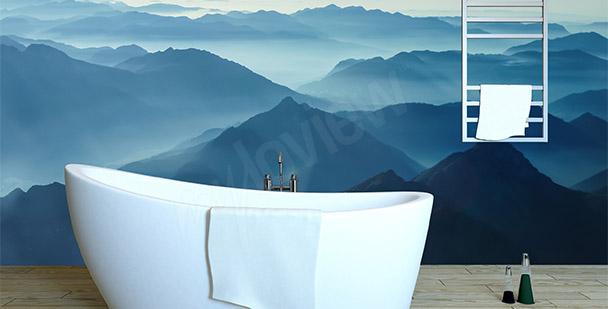 Fototapeta hory minimalistické