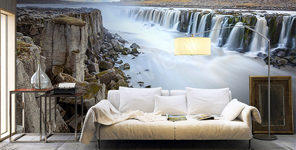 Fototapeta islandské vodopády